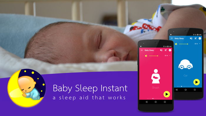 Baby Sleep - Android White Noise Sleeping Aid - PamperMyBaby.com