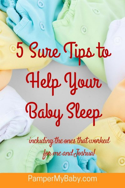 Portrait - 5 Sure Tips to Help Your Baby Sleep - PamperMyBaby.com