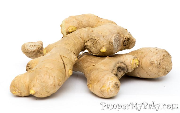 ginger - Ways to Help your Morning Sicknesss - PamperMyBaby