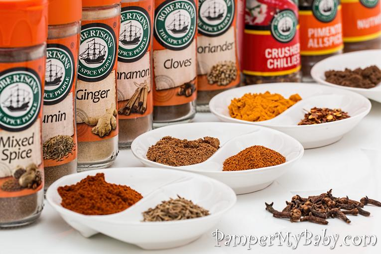 spices - Ways to Help your Morning Sicknesss - PamperMyBaby